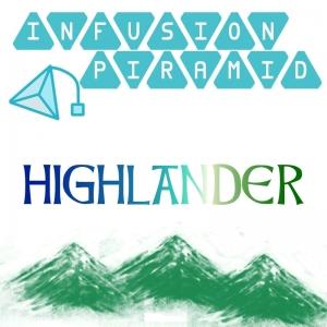 HIGHLANDER infusion piramid - 15 FILTRI