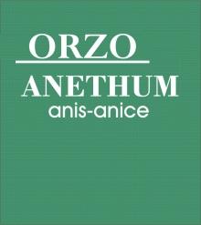 ORZO ALL'ANICE - 50 CAPSULE